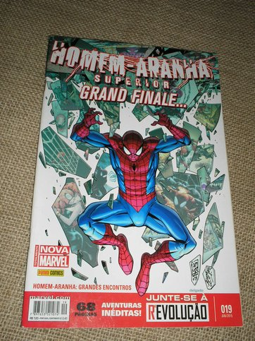 . Homen-Aranha Superior 019 - Grand Finale ...nova marvel