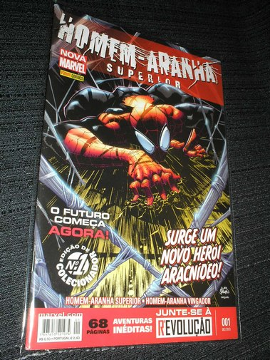 . Homen-Aranha Superior 001 - Nova marvel