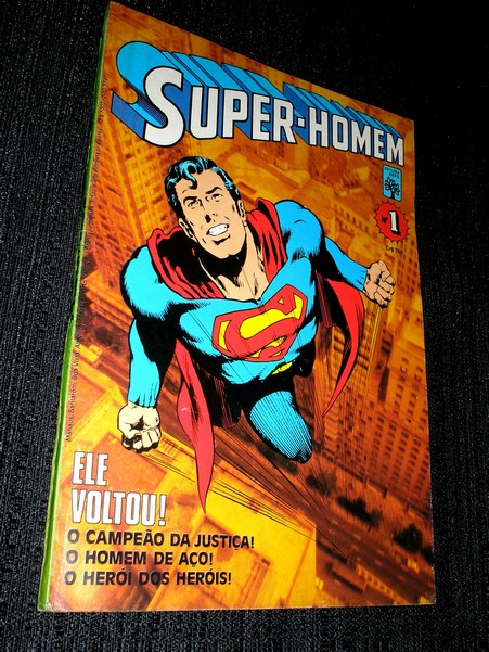 SUPER-HOMEN ( 1� s�rie )  n� 01 - �timo