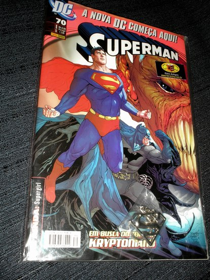 SUPERMAN n� 70 - chaveiro